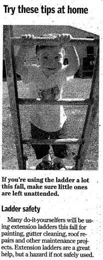 Ladder Gaffe