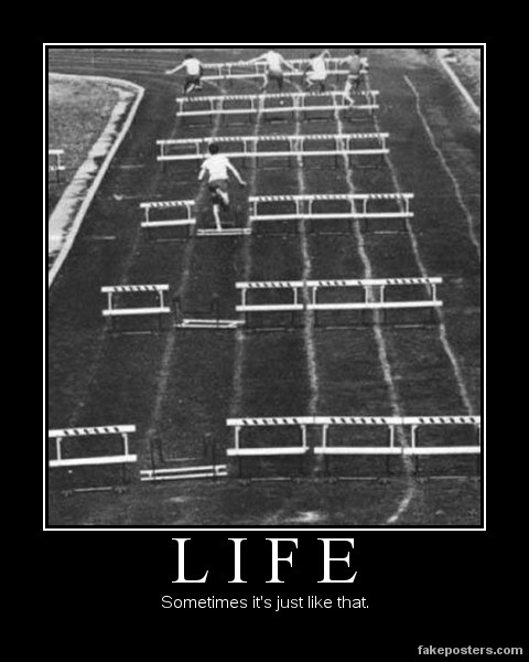 Life - Demotivational Poster