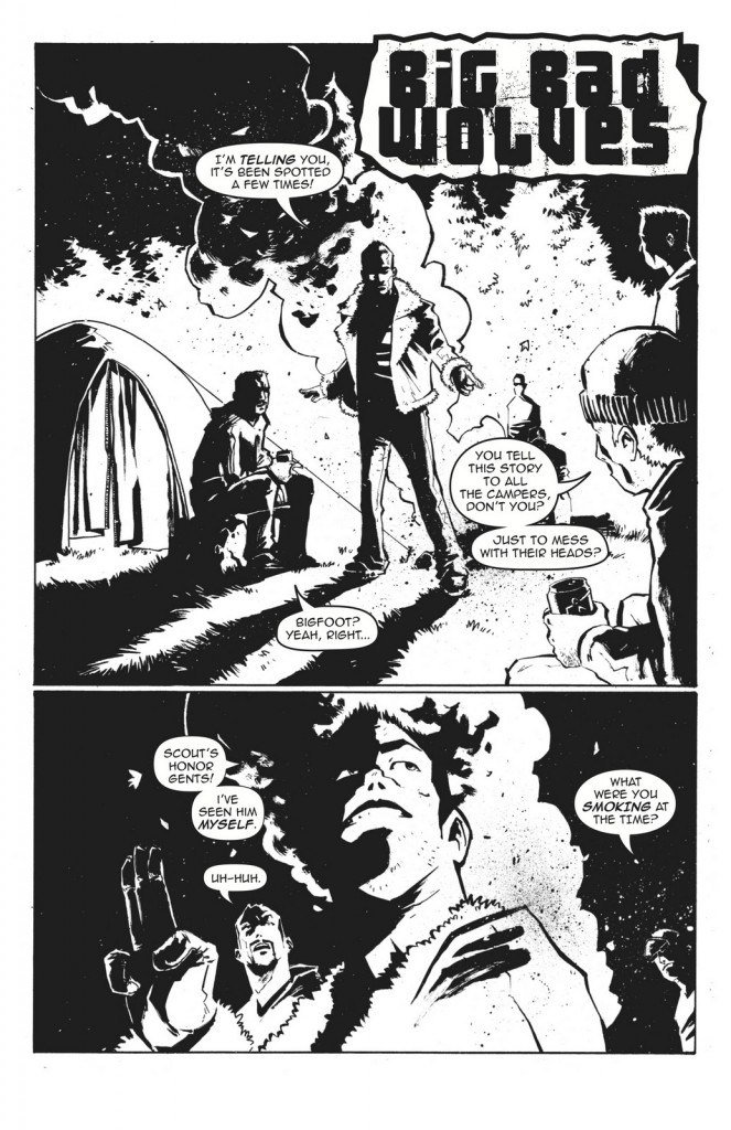 Big Bad Wolves page 1