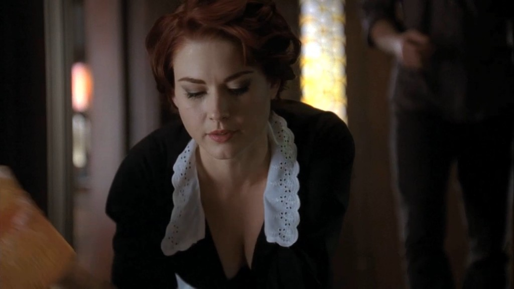 Alexandra Breckenridge as Moira