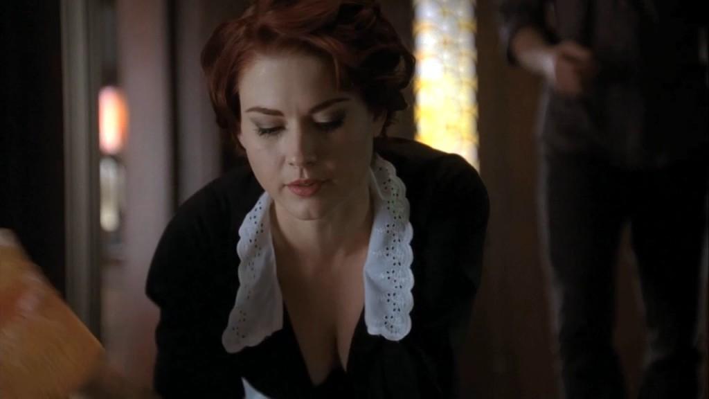 Alexandra Breckenridge as Moira